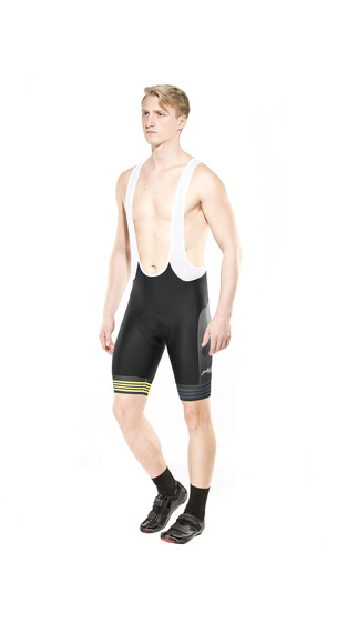 guilty 76 racing Velo Club Pro Race fietsshorts zwart